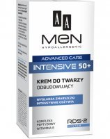 Aa men advanced care intensive 50+ - krem do twarzy odbudowujący 50 ml