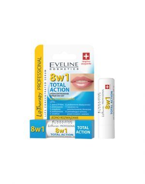 Eveline Total Action 8w1 skoncentrowane serum do ust (pomadka)