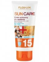 Flos-lek sun care krem ochronny do opalania spf 15 100 ml