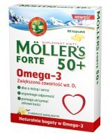 Mollers forte 50+ x 60 kaps