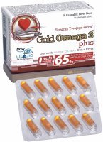 Olimp gold omega-3 plus x 60 kaps