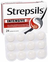 Strepsils intensive x 24 tabl do ssania