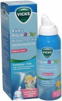 Vicks aquababy woda morska spray 100 ml