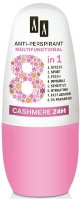 AA anti-perspirant multifunctional 8w1 CASHMERE  24H 50 ml