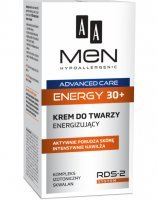 Aa men advanced care energy 30+ - krem do twarzy energizujący 30+ 50 ml