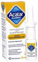 Acatar Allergy aerozol do nosa 10 ml