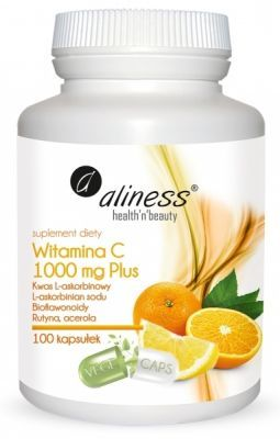 Aliness Witamina C 1000 mg Plus x 100 kaps