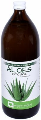 Aloes sok z aloesu 99,8% 1000 ml (Alter Medica)