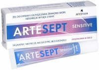Artesept sensitive opatrunek w żelu 20 ml