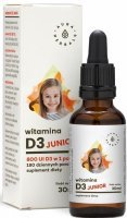 Aura Herbals Witamina D3 JUNIOR 30 ml