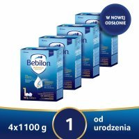 Bebilon 1 z Pronutra Advance w czteropaku - 4 x 1100 g