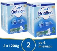Bebilon 2 Pronutra ADVANCE w dwupaku 2 x 1200 g