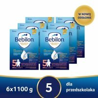 Bebilon 5 z Pronutra Advance w sześciopaku - 6 x 1100 g