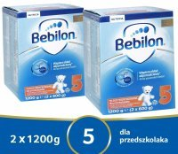 Bebilon junior 5 Pronutra ADVANCE w dwupaku 2 x 1200 g
