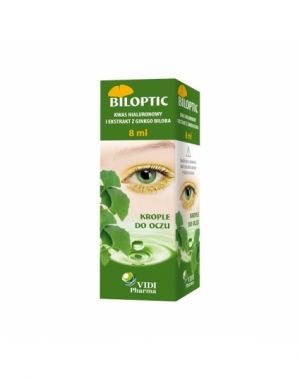 Biloptic krople do oczu 8 ml