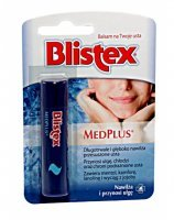 Blistex medplus balsam do ust 4,25 g + Blistex ORANGE MANGO balsam do ust 4,25 g GRATIS !!!