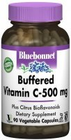 Bluebonnet Buffered Vitamin C-500 mg x 90 kaps