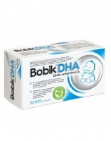 Bobik dha + witamina d3 x 30 kaps twist off