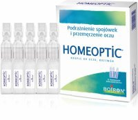 Boiron Homeoptic krople do oczu 0,4 ml x 10 szt