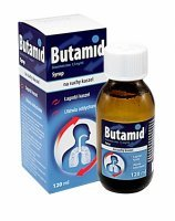 Butamid syrop 1,5 mg/ml 120 ml
