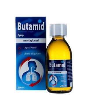 Butamid syrop 1,5 mg/ml 200 ml