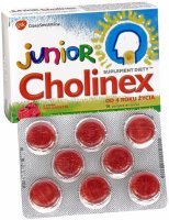 Cholinex junior x 16 pastylek do ssania