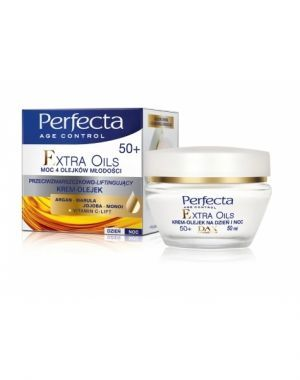 Dax cosmetics perfecta extra oils krem-olejek 50+ 50 ml