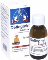 Deflegmin Junior syrop 15 mg/5 ml 120 ml