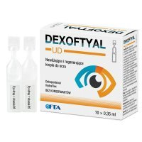 Dexoftyal UD krople do oczu 0,35 ml x 10 minimsów