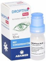 Droptiva PLUS 1% krople do oczu 10 ml