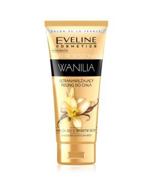 Eveline Spa Professional WANILIA ultranawilżający peeling do ciała 200 ml