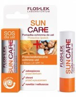 Flos-lek sun care pomadka ochronna do ust z filtrem uv