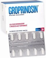 Groprinosin 500 mg x 50 tabl