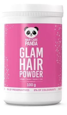 Hair Care Panda Hair Glam Hair Powder 100 g + Panda Bubble Boom 20 tabl musujących GRATIS!!!