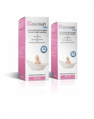 Hascosan baby płyn do kąpieli 200 ml