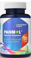 Hepatica Panmol Natural Vitamins x 120 kaps