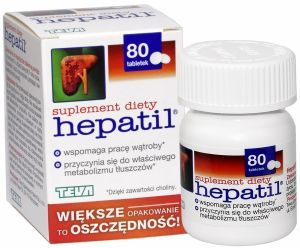 Hepatil 150 mg x 80 tabl