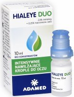 Hialeye Duo 0,25% krople do oczu 10 ml