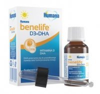 Humana benelife D3 + DHA 15 ml