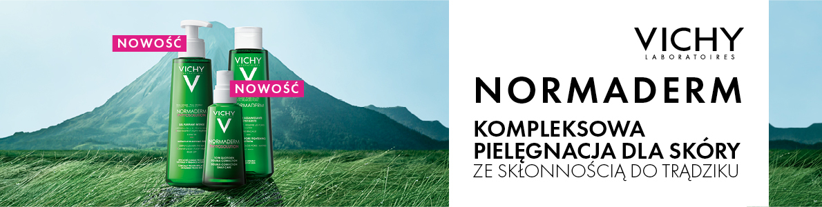 Baner Vichy Normaderm nowy