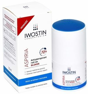 Iwostin aspiria roll-on bloker 72h 50 ml