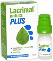Lacrimal Natura Plus krople do oczu 10 ml