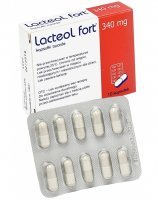 Lacteol fort 340 mg x 10 kaps