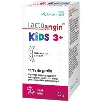 Lactoangin Kids 3+ spray do gardła o smaku wiśniowym 30 g