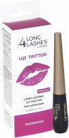 Long 4 Lashes Lip Tattoo - żelowy preparat do ust peel-off 8 ml (rosewood)