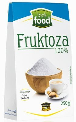 LookFood fruktoza 250 g