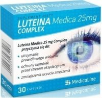 Medicaline Luteina Complex Medica 25 mg x 30 kaps