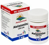 Melatonina 1 mg x 90 tabl