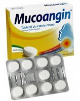 Mucoangin 20 mg x 18 tabl do ssania