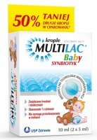 Multilac Baby synbiotyk krople 2 x 5 ml